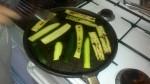 zucchine, grigliare, sale